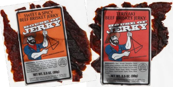 Beef Brisket Jerky -2 flavor