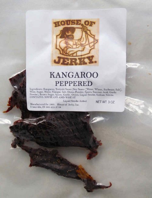 Kangaroo-Peppered