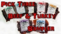 pick 3 beef & turkey sampler