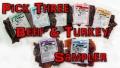 pick 3 beef & turkey sampler