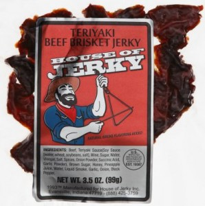 Beef Brisket Jerky- Teriyaki