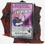 Kangaroo Jerky - Black Pepper