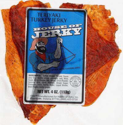 Turkey Jerky - Teriyaki