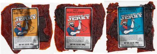 Buffalo Jerky 3 flavors