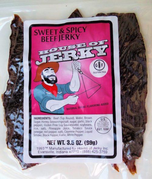 Beef Jerky -sweet & spicy Gluten Free