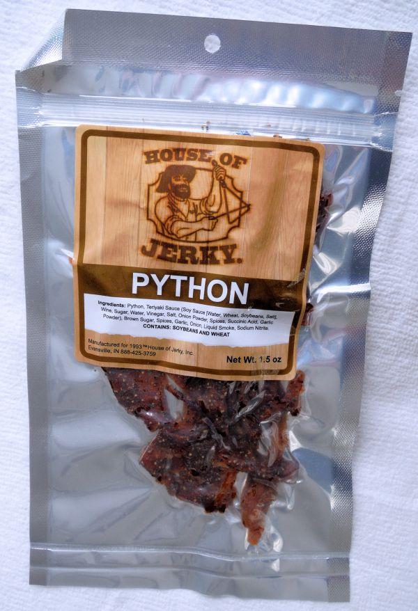 Python Jerky House Of Jerky