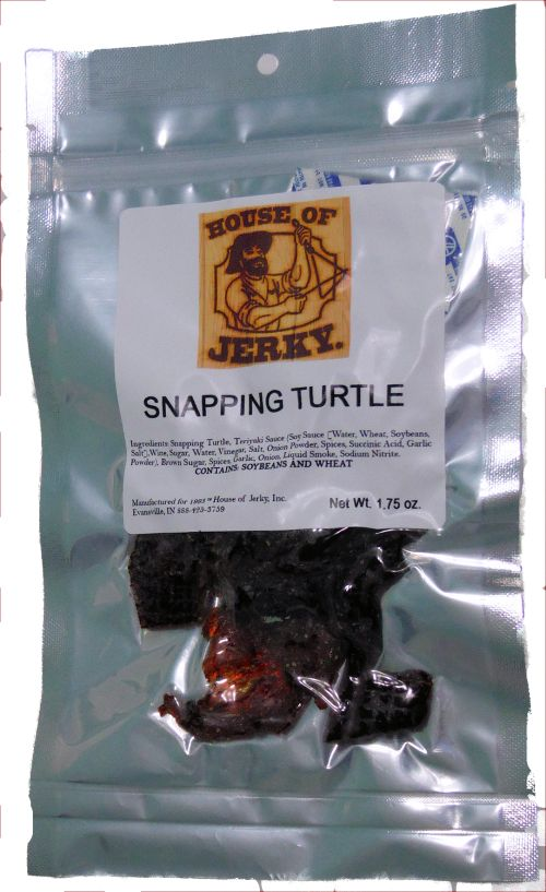 Snapping Turtle Jerky