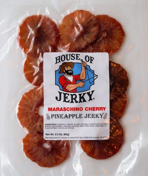 pineapple-maraschino cherry