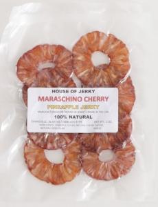 Maraschino Cherry Pineapple jerky