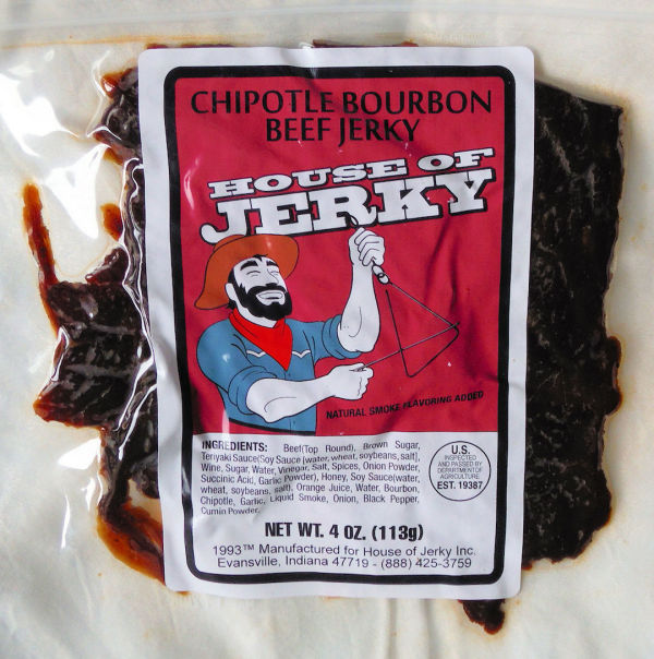 Chipotle Bourbon Beef Jerky - House of Jerky