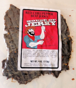 Red Chili Pepper Beef jerky
