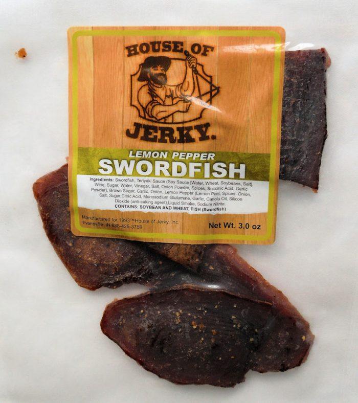 Swordfish - Lemon Pepper