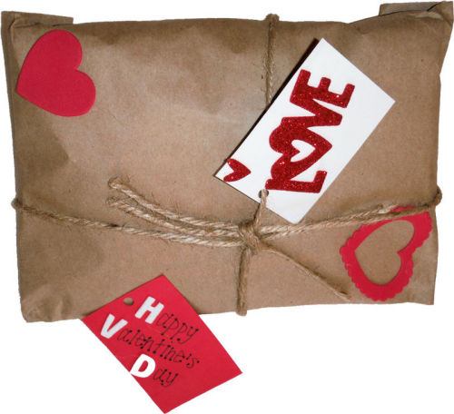 Valentines wrapping