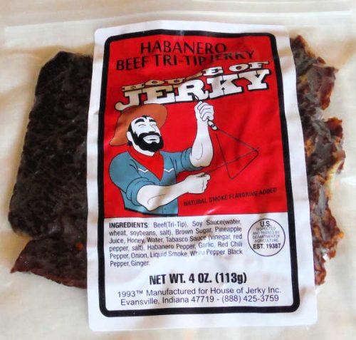 Habanero Beef Tri-Tip Jerky