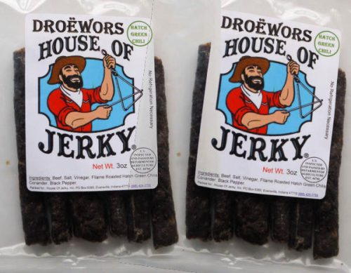 doewors - hatch green chili 2 pack