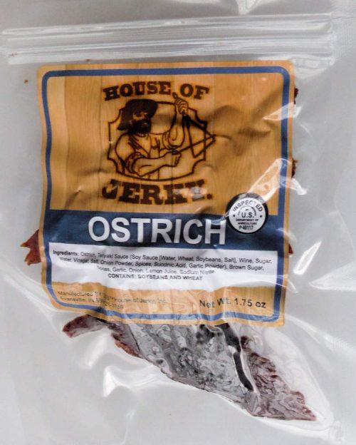 Ostrich Jerky