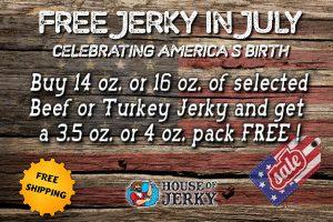 Free jerky in July