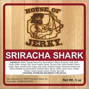 Sriracha Shark