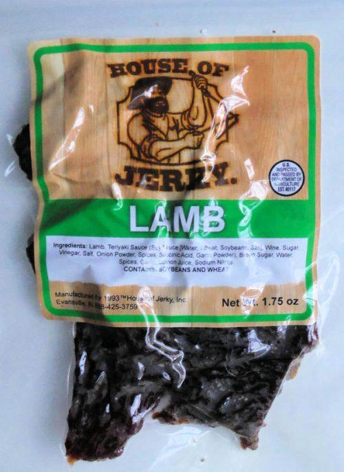 Lamb Jerky