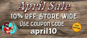April House of Jerky Sale