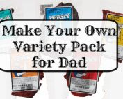 Make Your Own Variety Pack for Dad