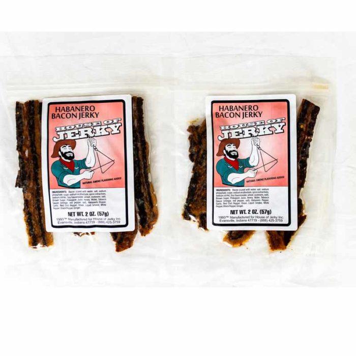 bag of habanero bacon jerky
