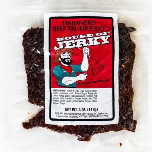 bag of habanero beef tri-tip jerky