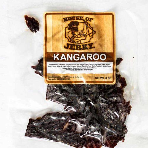 bag of kangaroo jerky