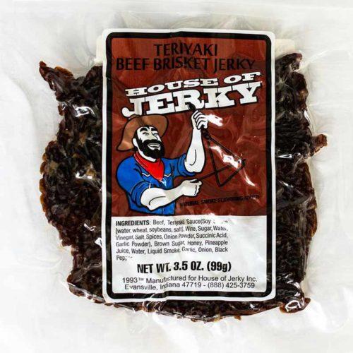 bag of teriyaki beef brisket jerky