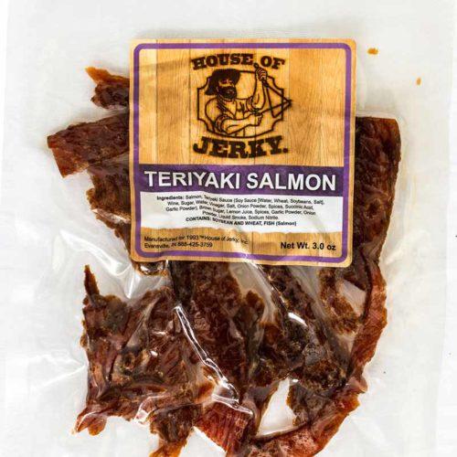 bag of teriyaki salmon jerky