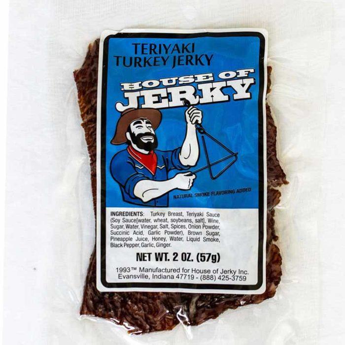 bag of teriyaki turkey jerky