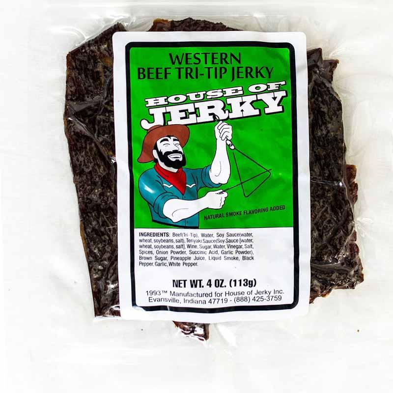 bag of western beef tri-tip jerky